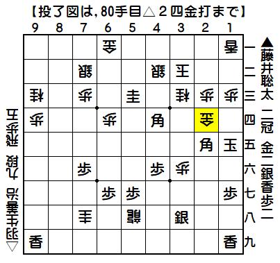藤井/羽生